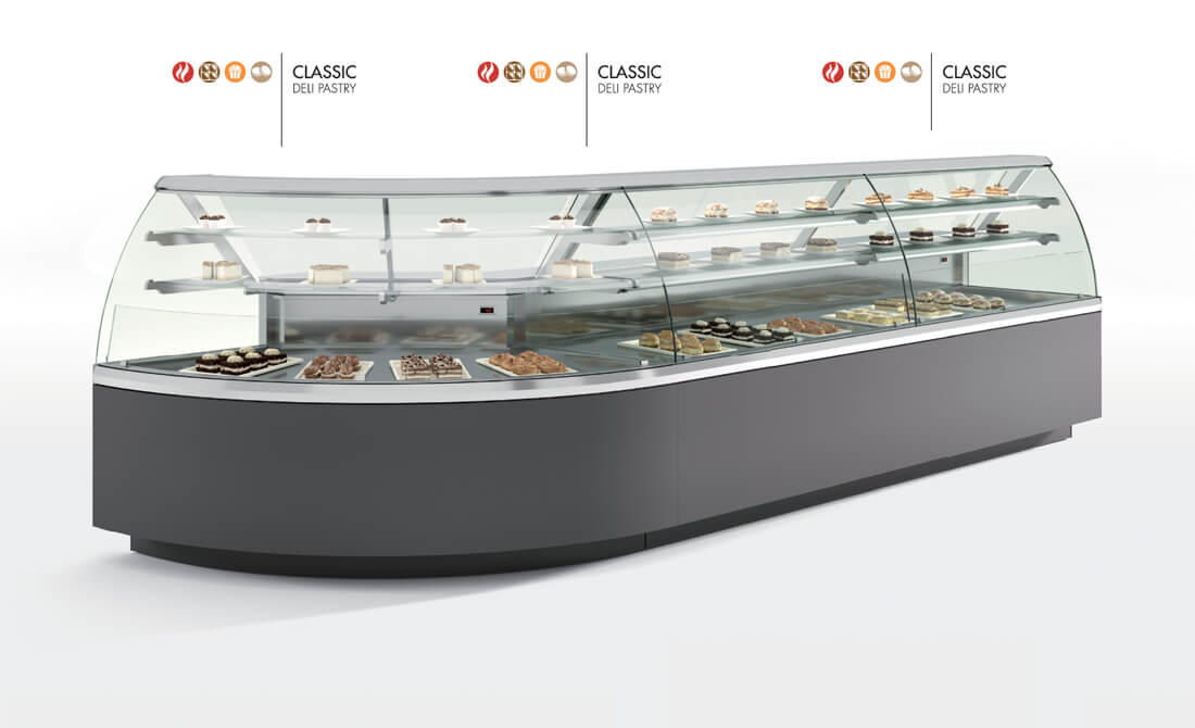 Oscartek Classic Pastry Gelato Amp Chocolate Display Case