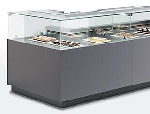 Oscartek Food Service Display Cases Gelato Pastry And Deli